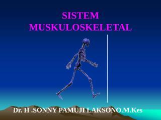 fisiologi sistem muskuloskeletal dr sonny.ppt