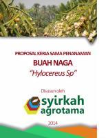 PROPOSAL PENAWARAN KERJASAMA Buah Naga.doc