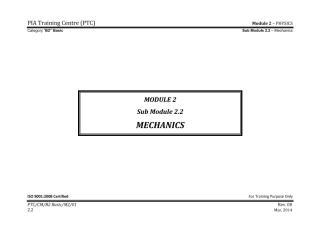 PIA B2_Module 2 (PHYSICS) SubModule 2.2 (Mechanics) Final.pdf