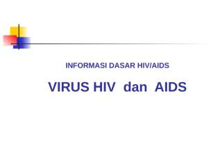 info dasar hiv, oleh adi rukmini, sh (kpad badung).ppt