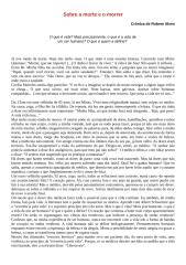 Rubem Alves - Sobre a morte e o morrer.doc