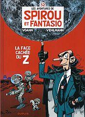 Spirou et Fantasio - T52 - La face cachee du Z rouge.cbz