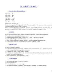 Gramática Griega - Verbo - Sistematización.doc