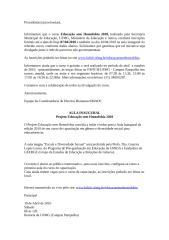 Convite Aula Inaugural do Projeto Educação Sem Homofobia.doc