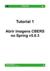 Tutorial 01 - Abrir Imagens CBERS no Spring.PDF