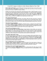 A Good SEO Company Can Help You Achieve Business Objectives.pdf