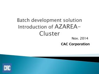 AZAREA-Cluster_Introduction_20141121-en.pdf