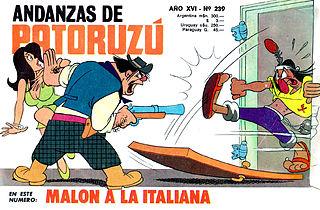 patoruzú n°239 - malon a la italiana.cbr