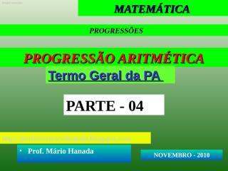 apresentação 4- pa - novembro 2010.pps