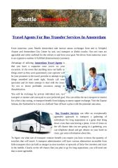 Travel Agents For Bus Transfer Services In Amsterdam.pdf