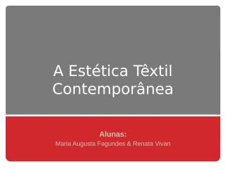 EsteticaTextilContemporanea.pptx
