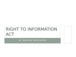 Right to Information Act 2005(1).pptx