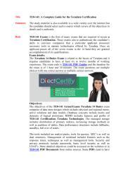 TE0-141 Certification Test.pdf