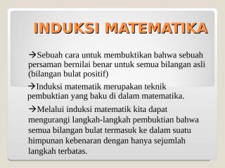 induksi matematika.ppt